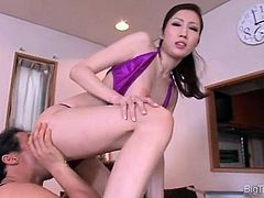 See how this smoking hot Asian babe part4