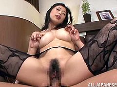 Hot MILF Gets Two Asian Cocks In MMF Action