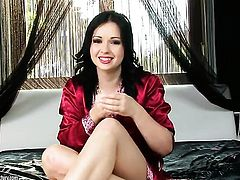 Angell Summers has some time to stroke her love box