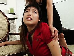 Mark Wood uses his meaty meat pole to make blowjob addict Exotic Francesca Le happy