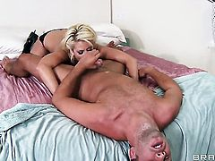 Courtney Taylor cant stop sucking in crazy oral action with hot bang buddy Keiran Lee