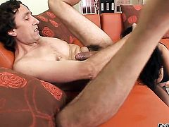 Candy Alexa cant resist guys hard dick and takes it up the ass