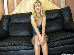 Sensual blonde belle is ready to be pounded hard