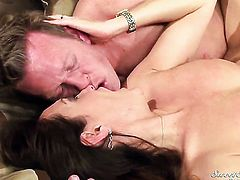 Michelle Lay asks Mark Wood to fuck her sweet mouth
