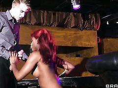 Danny D gets turned on by Jasmine Webb and then pounds her wet spot