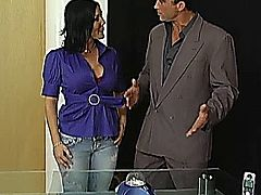 Claire Dames fucking with Billy's cock
