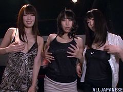 Gorgeous Asian lesbian with natural tits in fishnet stocking gets drunk before masturbating passionately in a reality shoot