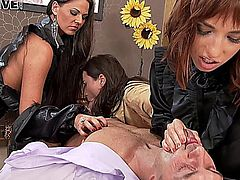 All Ass Access - Simony Diamond, Akasha Cullen, Tina Hot