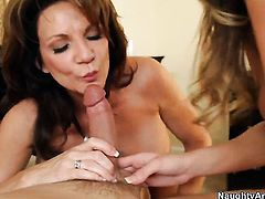 Alanah Rae with big ass and hairless bush enjoys another hardcore sex session with Alec Knight