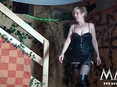 Two hot and horny mature german horny sluts decide to swap partner and try something new.