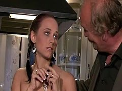 Teats swallowing and squeezing by lads photos.porn movies of awesome wife round repairman.