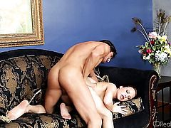 Katie St Ives shows her cock sucking talents
