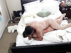Michael Stefano gets pleasure from fucking Beautiful porn girl Kristina Rose in her love hole