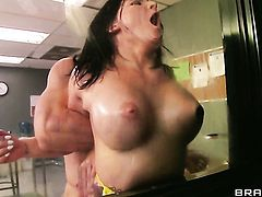 Casey Cumz makes her sex dreams a come to life with horny dude Johnny Sins
