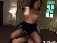 This is a naughty fuck and blowjob scene with a nasty chick serving a huge cock and gets pussy hole fucked hardcore.