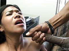 Chad Alva is horny and cant wait any more to screw Oriental Giselle Leon