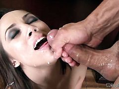 Jack Lawrence makes Chanel Preston scream and shout with his rock solid meat stick in her love hole