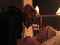 Attractive babes with big nipples sleeping naked in reality sex story