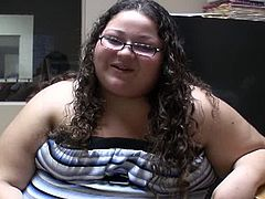 This fat slob bitch was sucking cocks on the street for crack money and i offered her some. I ask her about her gross life and stick my tiny dick in her mouth. Day Jabba No Bodda.