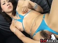 Cute Asian Toying With Her Pussy
