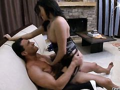 Danica Dillan is an anal addict who loves Marco Banderass stiff tool so much after dick sucking