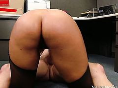 Mark Ashley has a nice time banging Bridgette B. with phat ass and smooth snatch