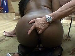 There is nothing better for this old punk cook to have a couple of busty ebony babes with booty take his cock apart