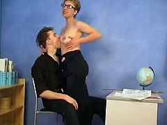 Russian MILF and guy - 46