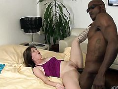Sasha Knox wants Wesley Pipes insert his dick in her eager mouth