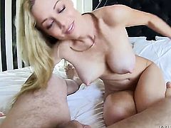 Manuel Ferrara plays with sexy butthole of Kayden Kross after he bangs her hard