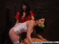 Kinky hustlers in nasty spanking session. Soma and Natasha Sweet are adventurous ladies who will do anything to satisfy their wild bdsm cravings like there is no stopping.