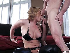 Krissy Lynn with big boobs finds herself getting anally ploughed by Johnny Sins
