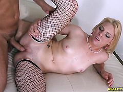 Blonde Missy Mathers is ready to fuck six ways from Sunday