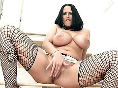 Carmella Bing is curious about playing with herself on cam