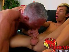 Bang Me Sugar Daddy brings you very intense free porn video where you can see how this horny twink gets pounded by an older stud into a massively intense anal orgasm.