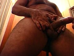 Hardcore mature pussy pounding as this brunette grandma acts like a whore for grandpa's dick dick down her hungry cunt.