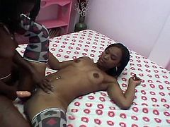 You'd surely learn a lot as these fervent desires finally come true with lesbian ebony amateurs nasty pussy toying session.