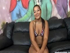 Ghetto Gaggers brings you very intense free porn video where you can see how this ebony slut gets banged hard from both ends while assuming very hot positions.