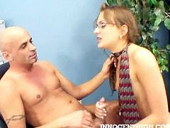 Nika Noire is ready to have some fun with her older teacher and wastes no time. She makes his cock hard and starts to ride it like the petite slut she is in reality.