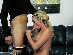 Blonde Dorina Gold finds herself getting dicked by hot man again and again