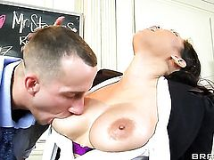 Criss Strokes is ready to make passionate Jessica Bangkoks every sex fantasy come to life
