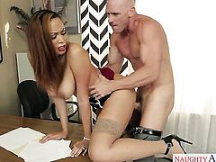 Johnny Sins wants to drill fuck hungry Serena Alis wet muff pie forever