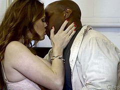 redheaded milf likes black cock more @ mom's cuckold #15