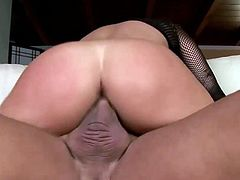Visit official Lovely Matures's HomepageBlonde beauty with amazing tits, Jerilyn Paige, looks amazing while sucking and riding this fat dick on cam