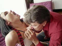 gabriella craves for a horny cock @ pornification
