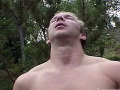 Tera can please a guy anytime and anywhere. That's why, when she is hanging out with a man outdoors, she wants to suck him. She knows, she will be paid back, because the man licks her cunt too. But he doesn't stop here, he fingers her real good. After all, she needs her hole opened up wide.