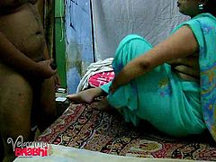 Velamma Bhabhi loves sex. If it's not her husband, it's the next door neighbor. Watch this Indian slut spread her big pussy for the neighbor. She makes sure that she takes it in her mouth and makes it as wet, as possible, before letting it into her pussy. She is not shy and does not give a damn about anyone, when she sucks this guy's rock-hard cock.