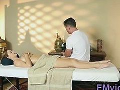 Horny masseur want blowjob