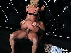 Exotic Capri Cavanni is in the mood for fucking and gives it to hard dicked fuck buddy Johnny Castle