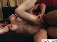 Oriental Corinna Blake and hard dicked dude Johnny Castle enjoy sex too much to stop